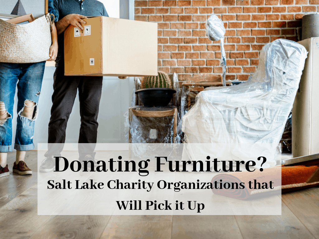 Donating Furniture Salt Lake Charity Organizations That